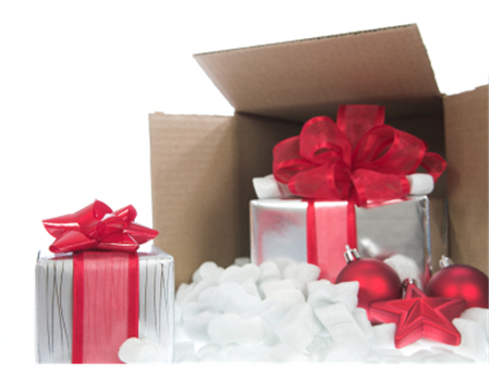 Christmas Package Shipping