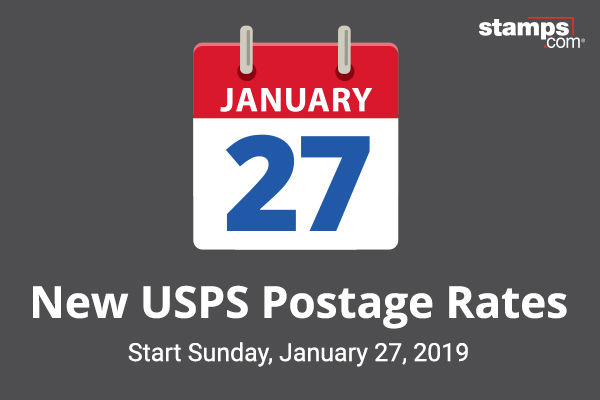 usps announces postage rate increase starts january 27 2019