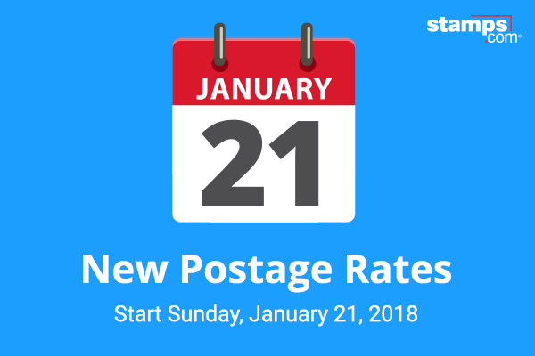USPS Announces 2018 Postage Rate Increase - Stamps com Blog