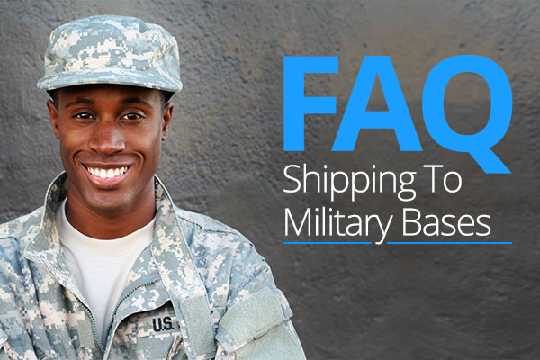 Shipping to Military Bases - Military Mail FAQ - Stamps com Blog